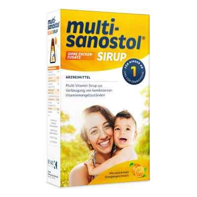 Multi Sanostol Sirup ohne Zuckerzusatz  bei versandapo.de bestellen