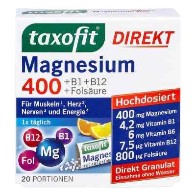 Taxofit Magnesium 400+b1+b6+b12+folsäure 800 Granulat   bei versandapo.de bestellen