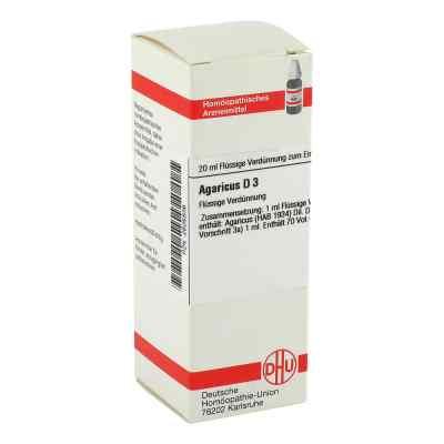 Agaricus D 3 Dilution  bei versandapo.de bestellen