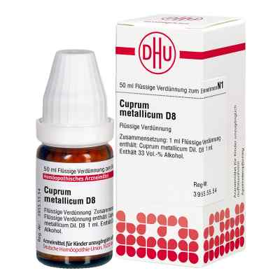 Cuprum Metallicum D 8 Dilution  bei versandapo.de bestellen