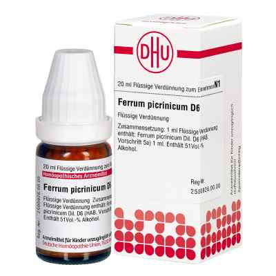 Ferrum Picrinicum D 6 Dilution  bei versandapo.de bestellen