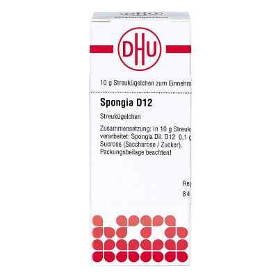Spongia D 12 Globuli  bei versandapo.de bestellen