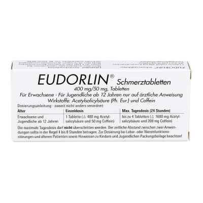 EUDORLIN Schmerztabletten  bei versandapo.de bestellen