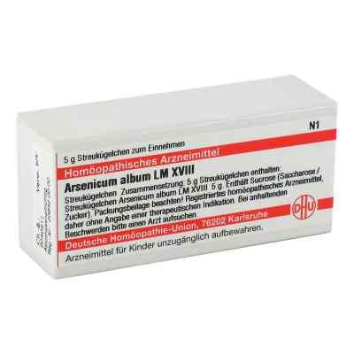 Lm Arsenicum Album Xviii Globuli  bei versandapo.de bestellen