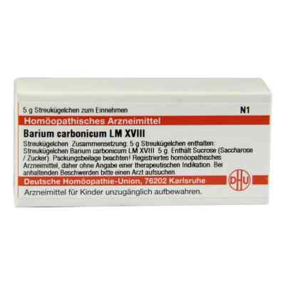 Lm Barium Carbonicum Xviii Globuli  bei versandapo.de bestellen