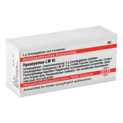 Lm Hyoscyamus Vi Globuli  bei versandapo.de bestellen