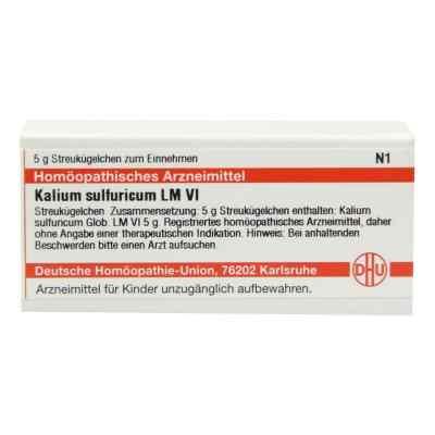 Lm Kalium Sulfuricum Vi Globuli  bei versandapo.de bestellen
