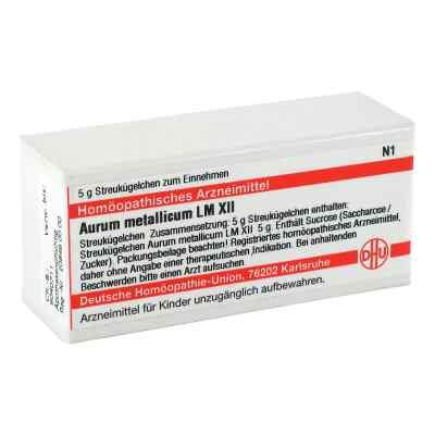 Lm Aurum Metallicum Xii Globuli  bei versandapo.de bestellen