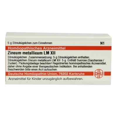 Lm Zincum Metallicum Xii Globuli  bei versandapo.de bestellen