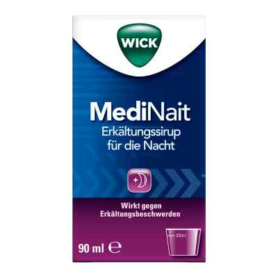 WICK MediNait Erkältungssirup für die Nacht  bei versandapo.de bestellen