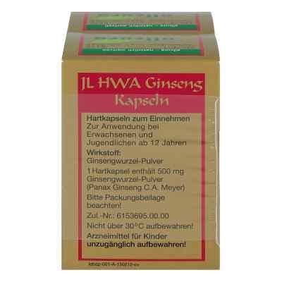 Ginseng IL HWA Hartkapseln  bei versandapo.de bestellen