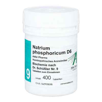 Biochemie Adler 9 Natrium phosphoricum D 6 Adl.ph. Tabletten   bei versandapo.de bestellen