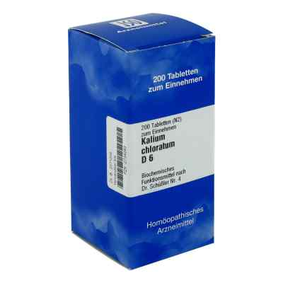 Biochemie 4 Kalium chloratum D 6 Tabletten  bei versandapo.de bestellen