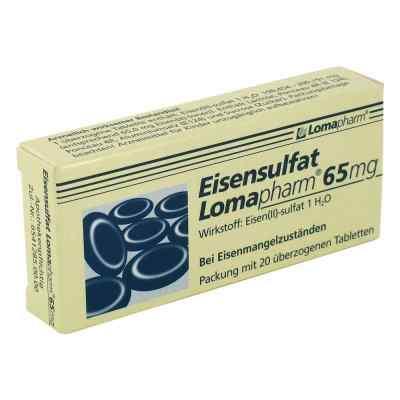 Eisensulfat Lomapharm 65mg  bei versandapo.de bestellen