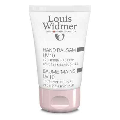 Widmer Hand Balsam Uv10 leicht parfümiert  bei versandapo.de bestellen
