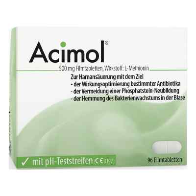 Acimol mit pH Teststreifen Filmtabletten  bei versandapo.de bestellen