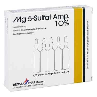 Mg 5 Sulfat Ampullen  10% Injektionslösung  bei versandapo.de bestellen