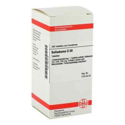 Belladonna D 30 Tabletten  bei versandapo.de bestellen