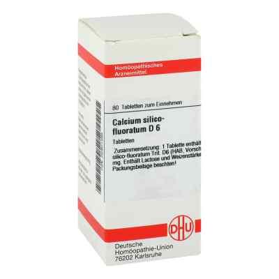 Calcium Silico Fluor. D 6 Tabletten  bei versandapo.de bestellen