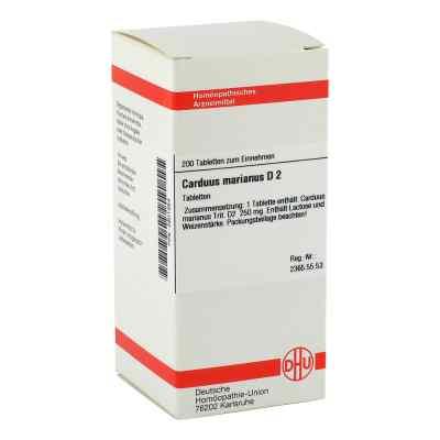 Carduus Marianus D 2 Tabletten  bei versandapo.de bestellen