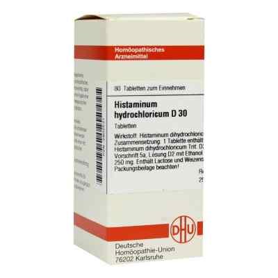 Histaminum Hydrochloricum D 30 Tabletten  bei versandapo.de bestellen