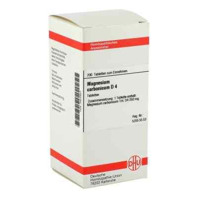 Magnesium Carbonicum D 4 Tabletten  bei versandapo.de bestellen