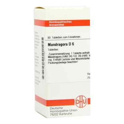 Mandragora D 6 Tabletten  bei versandapo.de bestellen