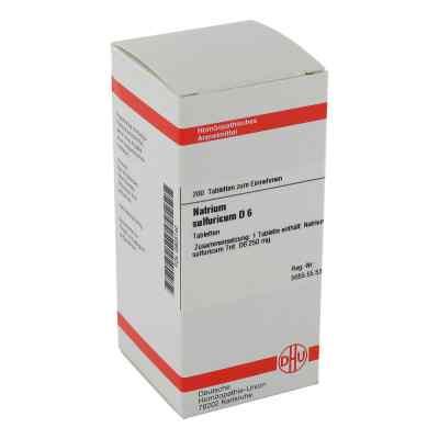 Natrium Sulfuricum D 6 Tabletten  bei versandapo.de bestellen
