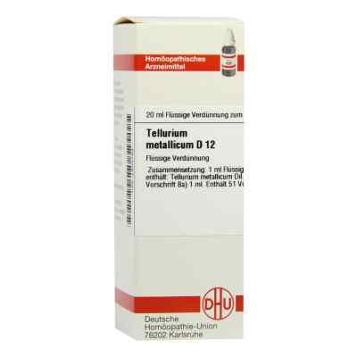 Tellurium Metallicum D 12 Dilution  bei versandapo.de bestellen