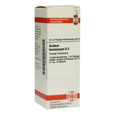 Acidum Formicicum D 3 Dilution  bei versandapo.de bestellen