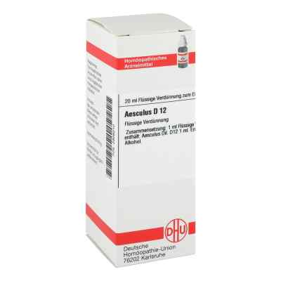 Aesculus D 12 Dilution  bei versandapo.de bestellen