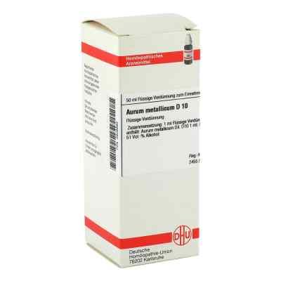 Aurum Metallicum D 10 Dilution  bei versandapo.de bestellen