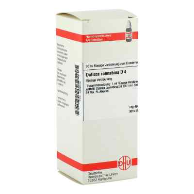 Datisca Cannabina D 4 Dilution  bei versandapo.de bestellen