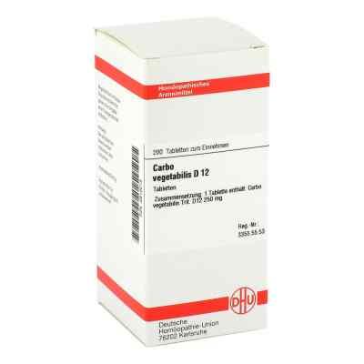 Carbo Vegetabilis D 12 Tabletten  bei versandapo.de bestellen