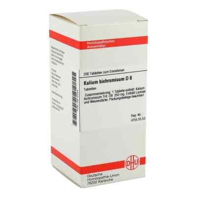 Kalium Bichromicum D 8 Tabletten  bei versandapo.de bestellen