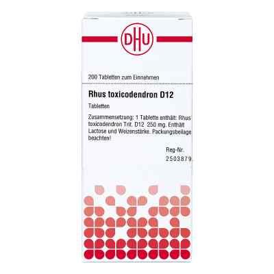 Rhus Tox. D 12 Tabletten  bei versandapo.de bestellen
