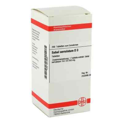 Sabal Serrul. D 3 Tabletten  bei versandapo.de bestellen