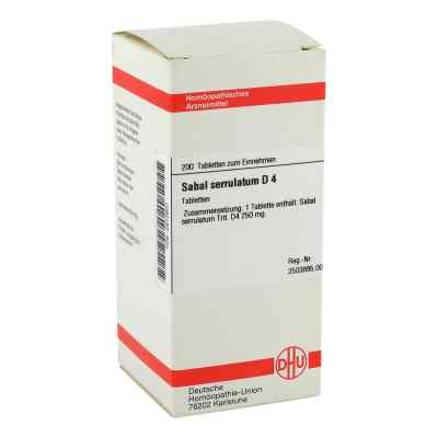 Sabal Serrul. D 4 Tabletten  bei versandapo.de bestellen