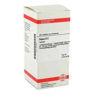 Sepia D 2 Tabletten  bei versandapo.de bestellen