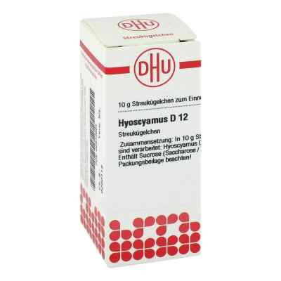 Hyoscyamus D 12 Globuli  bei versandapo.de bestellen