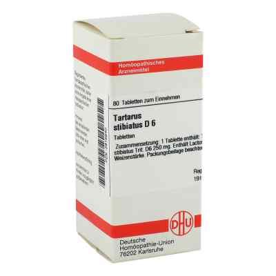 Tartarus Stibiatus D 6 Tabletten  bei versandapo.de bestellen