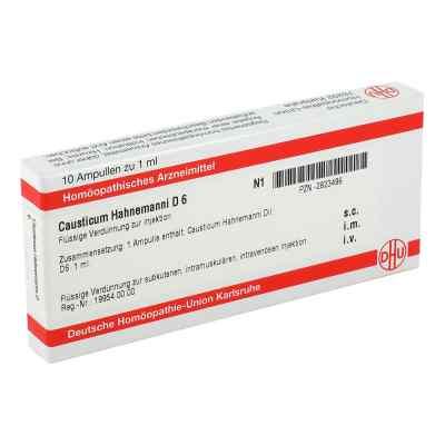 Causticum Hahnemanni D 6 Ampullen  bei versandapo.de bestellen