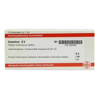 Kreosotum D 6 Ampullen  bei versandapo.de bestellen