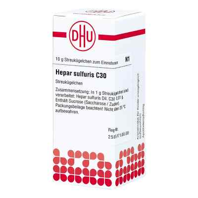 Hepar Sulfuris C 30 Globuli  bei versandapo.de bestellen
