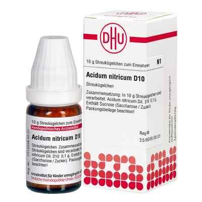 Acidum Nitricum D 10 Globuli  bei versandapo.de bestellen