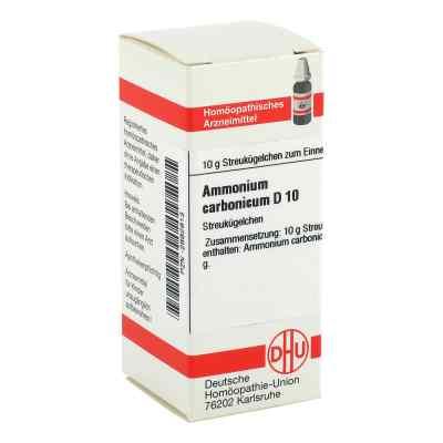 Ammonium Carbonicum D 10 Globuli  bei versandapo.de bestellen