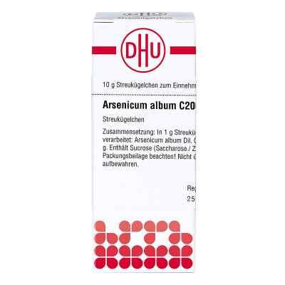 Arsenicum Album C 200 Globuli  bei versandapo.de bestellen