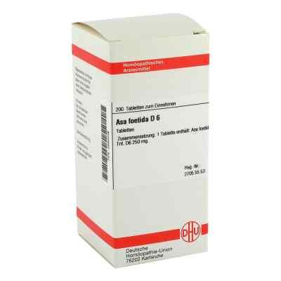 Asa Foetida D 6 Tabletten  bei versandapo.de bestellen