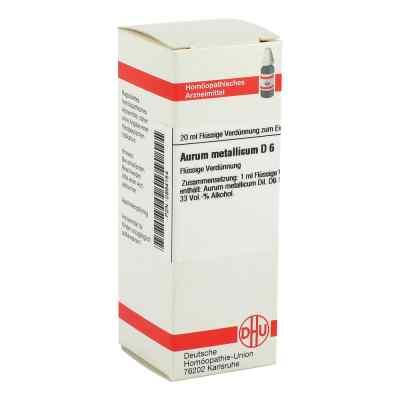 Aurum Metallicum D 6 Dilution  bei versandapo.de bestellen