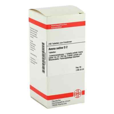 Avena Sativa D 2 Tabletten  bei versandapo.de bestellen